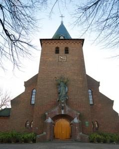 Mariakerk van buiten voor