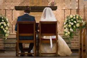 Huwelijk in de Mariakerk.