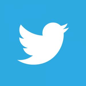 twitter icoon vierkant